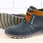 Зимние мужские ботинки Colambia.3 цвета