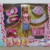 Игровой набор кукла Steffi с младенцем Simba 5730861