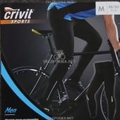 Мужские велосипедные штаны Crivit Sports / велоштаны со спецпрокладкой ,размер XL,длина- 107см