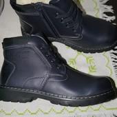 Зимние ботинки на овечьей шерсти.34 и 35р.Цена снижена!!