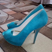 Шикарные туфли Ronzo. Размер 39, сост. новых