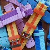 Ремешок силиконовый для детских умных часов Q60, Q90, Q100