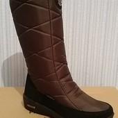 Модель 2016. Женские лёгкие сапоги - качество, тепло, комфорт - идеальная зимняя обувь