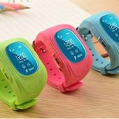 Детские умные часы Qvark Q50 с трекером,oled дисплей, 2G