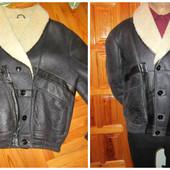 Брендова Куртка-дубльонка на овчині Італія Firenze