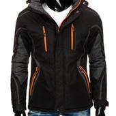 Мужская зимняя спортивная лыжная куртка размер 2хл в наличие