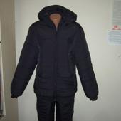 костюм мужской зимний синтепон+флис! украина!  48 50 52 54