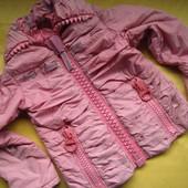 Курточка весна-осень со светящимися полосками