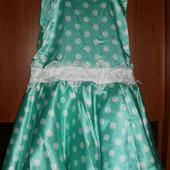 Красивые платья для девочки на рост 128-134см