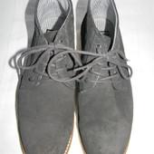 Мужские замшевые ботинки Pull&Bear р.43 дл.ст 28см