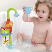 Кран и фонтанчик - игрушка для ванной. 4 вида.