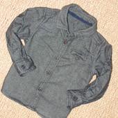 Рубашка Mothercare на 9-12 мес