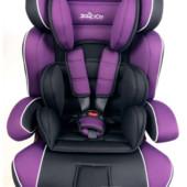 Автокресло детское Jщн 888 группа 1-2-3 (9-36кг), фиолетовое