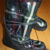 37-38. Зима. Сапоги snow boots Tommy Hilfiger