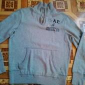 Фирменный мужской свитер- реглан