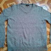 Шикарный мужской шерстяной свитер