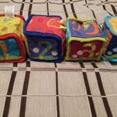 Продам кубики Bright starts, доставка УП за мой счет