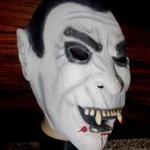 Маска маскарадная резиновая вампир