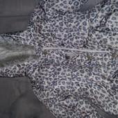 Новая курточка Next на малышку 3-4 104 с биркой