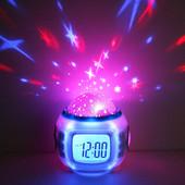 Часы — проектор ночного неба Очень классные!Такие как на фото!СП