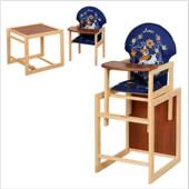 Стульчик для кормления трансформер деревянный МV-010-24-6