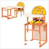 Стульчик для кормления трансформер деревянный МV-100-23-4
