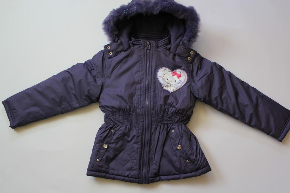 Теплая куртка еврозима для девочки charmmykitty, р. 113-119, 119-131 фото №1