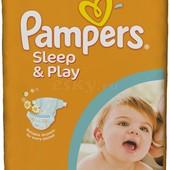 Продам памперсы Pampers sleep 4р, 68шт