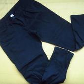 Фирменные штаны бойфренды чёрного цвета