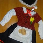Национальный уэльский костюм на 3-4 года. Tu. Карнавальный костюм, платье.