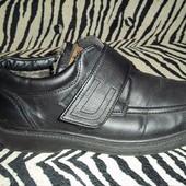 Туфли - ботинки на искусственном меху.