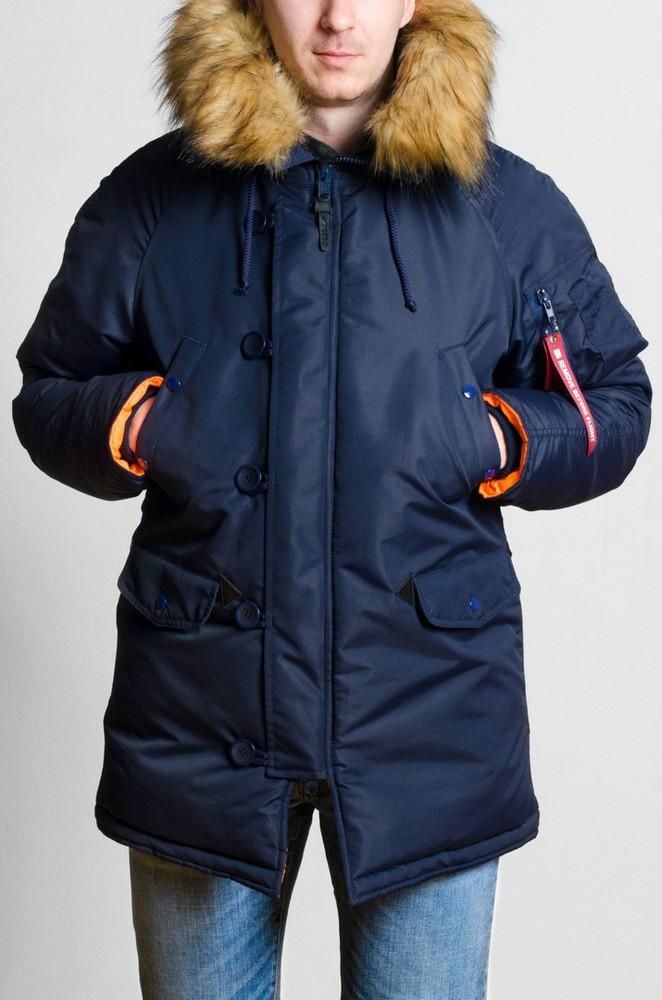 Куртка Olymp Alyaska Slim fit, р. S-7xl, зима -30c, код cve-0004 фото №1