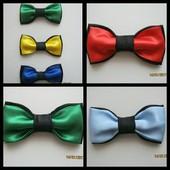 Праздничные галстук-бабочки для детей и взрослых.