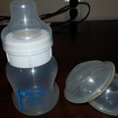 Вентилируемые накладки Avent+бутылочка Dr.Brown Natural Flow