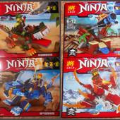 Новые в наличии конструктор Ninjago Ninja Нинзяго