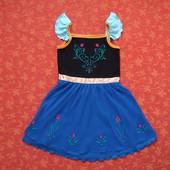 Продаю! 5-6 лет Карнавальное платье Анна Холодное сердце (Frozen) George, б/у.