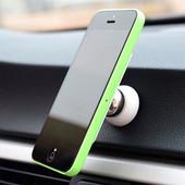 Шариковый магнитный держатель для телефона в автомобиль.