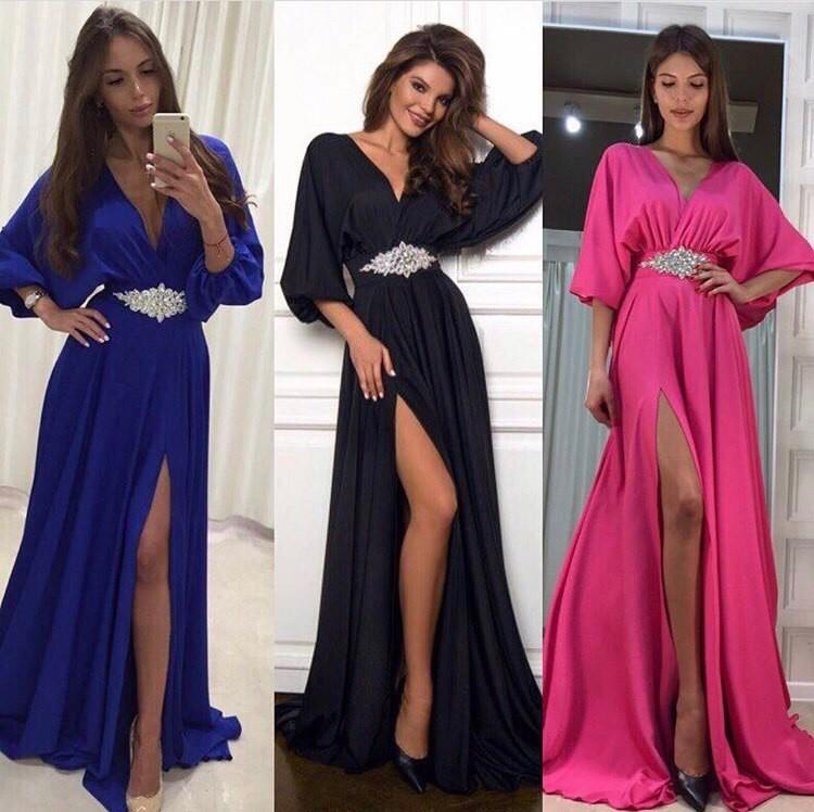 Сайты вечерних платьев в пол с