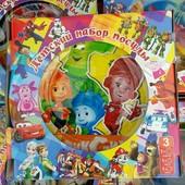 Детский Набор Посуды Фиксики (3 предмета). Новый Год!!!