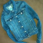 Джинсовая курточка 10-12 лет девочка