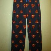 Флисовые штаны, домашние, пижамные для супермена) George