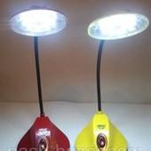 Led-лампа настольная, переносной фонарь, 18 светодиодов, яркое освещение! Очень классная