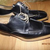 (№і251)фирменные кожаные туфли 43-44 р Uk 10 Италия