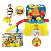 Детский игровой набор со строительным краном (арт.008-805)
