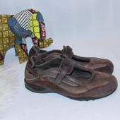 43 28см Allrounder Мужские кожаные закрытые босоножки кеды Евростиль
