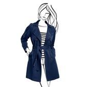 Must have в гардеробе любой модницы - Тренчкот Tchibo - разные размеры - коллекция Helene fischer