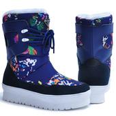 Сапоги женские-дутики зима Blau King Boots