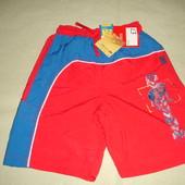 Фирменные от M&S шорты мальчику со спайдерменом 7-8 лет