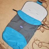 Спальный мешок, конверт, чехол на ножки в коляску Chicco