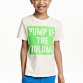 Новые футболки 2-4 и 4-6 лет H&M